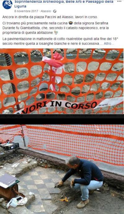 archeologia preventiva alassio