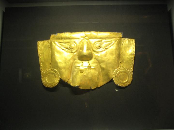 museo archeologico lima maschera lambayeque