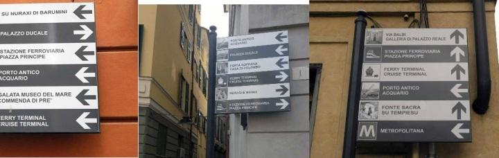 """collage di 3 foto usate dalla pagina fb della SBAL per creare aspettativa intorno alla mostra """"La Sardegna Nuragica"""""""