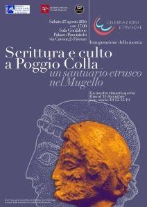 locandina della mostra a Palazzo panciatichi fino al 30/12/2016