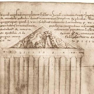 L'immagine simbolo del CIRMAP è il disegno del Partenone realizzato da Ciriaco d'Ancona nel XV secolo, quando ancora le sculture erano in posto
