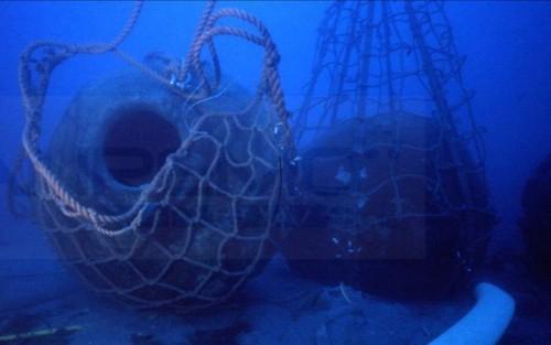 il recupero dei dolia della nave romana di Diano Marina