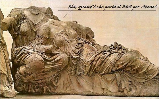 Se i marmi del Partenone potessero parlare...
