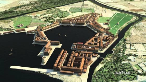 ricostruzione Portus