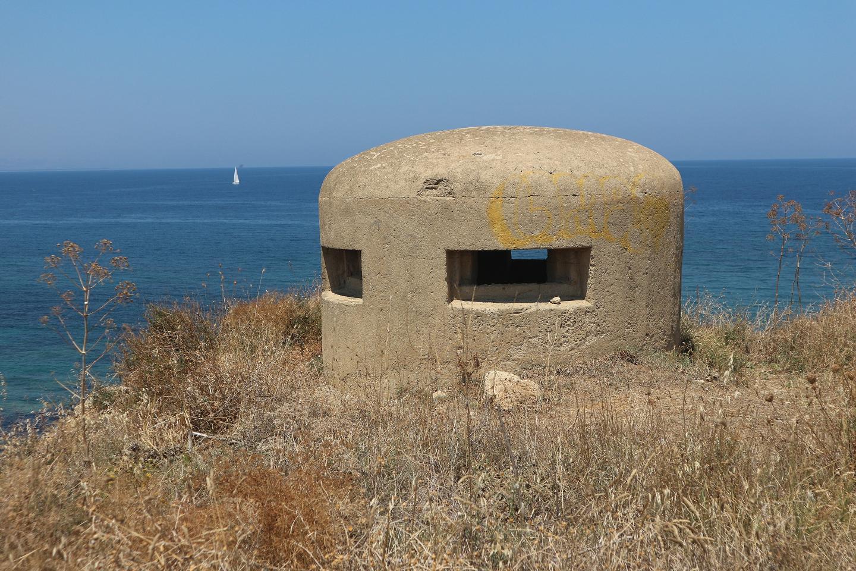 casamatta 2° guerra mondiale Capo Colonna