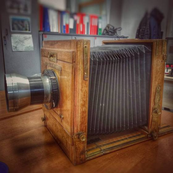 macchina fotografica folding