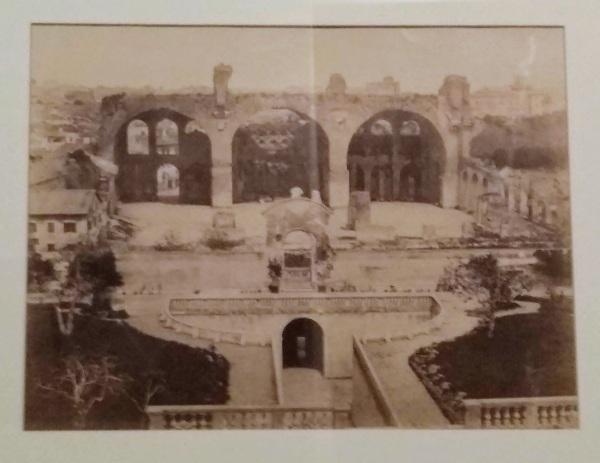 Orti Farnesiani-basilica di Massenzio